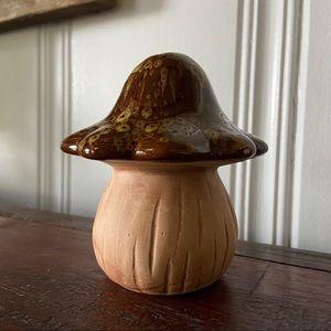Vtg Ceramic Mushroom